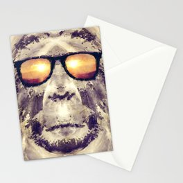 Bigfoot In Shades Stationery Cards