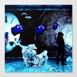 TARDIS BLUE Canvas Print