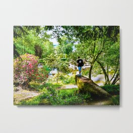 Chatsworth House Gardens. Metal Print