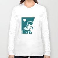 werewolf Long Sleeve T-shirts featuring Werewolf by Jaimie Hutton