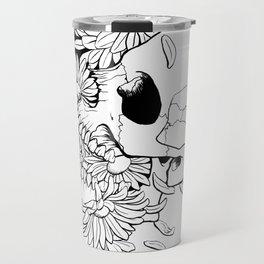 Skull #9 (Pushing Up Daisies) Travel Mug