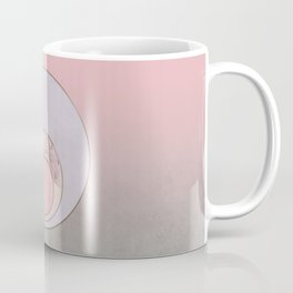 Soft Pastel Elegant Circles Coffee Mug
