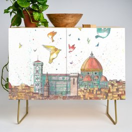 Colors Of Florence Credenza