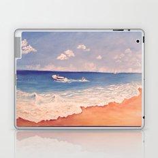 Playing at The Beach Laptop & iPad Skin