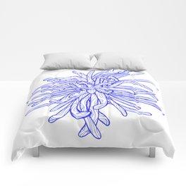 Blue Flower Comforters