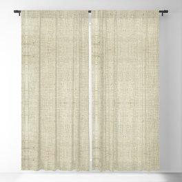 """Nude Burlap Texture"" Blackout Curtain"