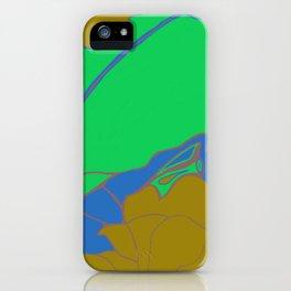 Leaf in Green iPhone Case