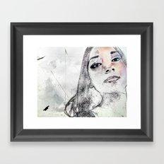A Girl Named K Framed Art Print