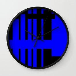 Cabsink15DesignerPatternCLO Wall Clock