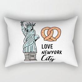 Love New York City Rectangular Pillow
