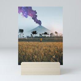 The Volcano Mini Art Print
