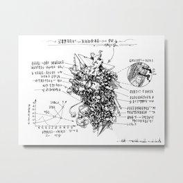 examination Metal Print