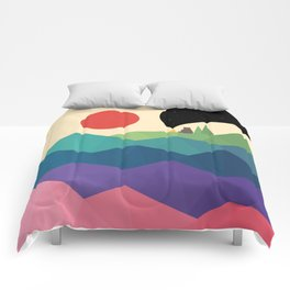 Over The Rainbow Comforters