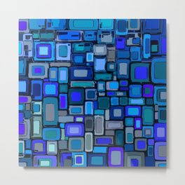 Abstract Composition 328 Metal Print
