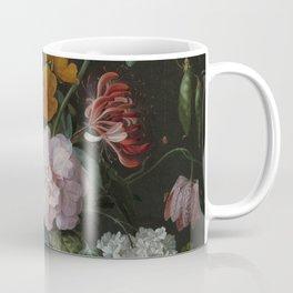 Still life with flowers in a glass vase, Jan Davidsz. de Heem, 1650 - 1683 Coffee Mug