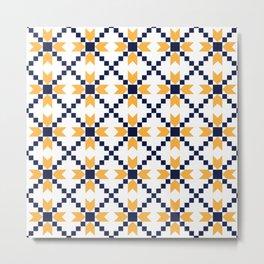 Portuguese style pattern Metal Print
