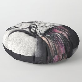 Degradation Floor Pillow