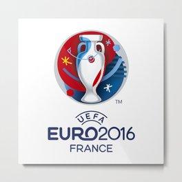 Logo Uefa Euro 2016 Metal Print