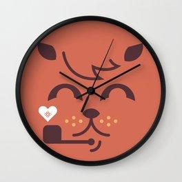 UNDO  ILU Pet Lover series [ brando ] Wall Clock