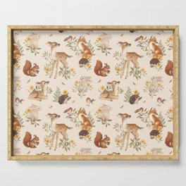 Meadow Friends Serving Tray