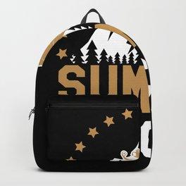 Summer Sucks Snowmobiling Backpack