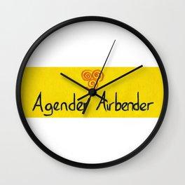 Agender (air) Wall Clock