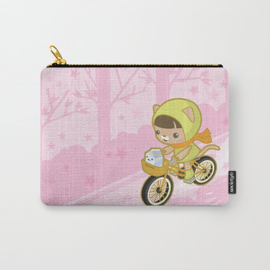 Blossom Ride Carry-All Pouch