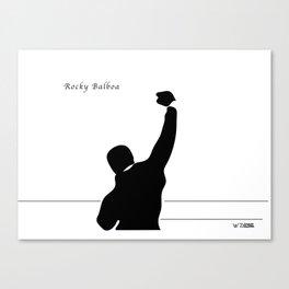 Rocky Balboa, by Will Zurmann Canvas Print