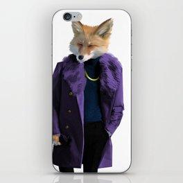 Sir Fox iPhone Skin