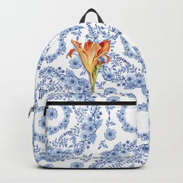 Blue Rhapsody Daylily Backpack