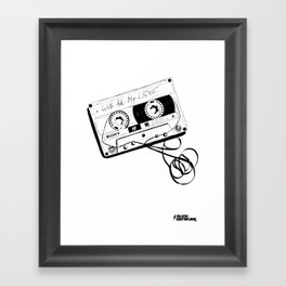 love tape Framed Art Print