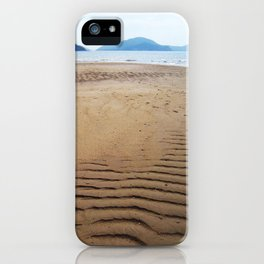 Imprints of Waves iPhone Case
