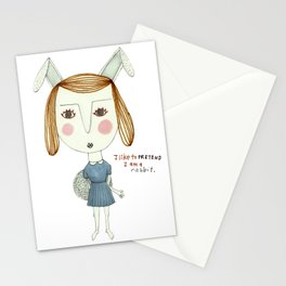 The Great Rabbit Pretender. Stationery Cards
