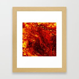 Torched Framed Art Print