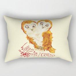 Optimistic Owl Rectangular Pillow