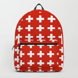 flag of switzerland 2-Switzerland, Alps,swiss,Schweizer,suisse,zurich,bern,geneva Backpack
