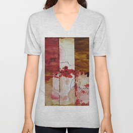 Bleeding Unisex V-Neck