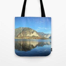 Mountain Morning Reflection Tote Bag