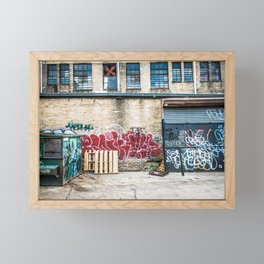 Around Back Framed Mini Art Print