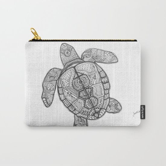 Sharpie Turtle Carry-All Pouch