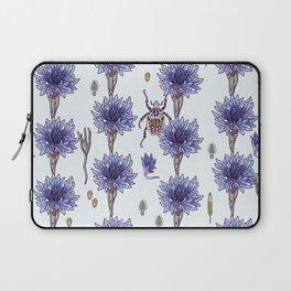 blue cornflower fields Laptop Sleeve
