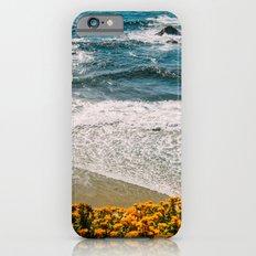 Flowers meet the Sea iPhone 6s Slim Case