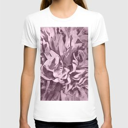Sepia Pink Painted Peony T-shirt