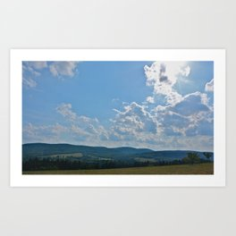 Interstate  Art Print