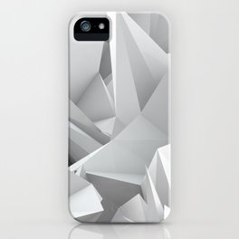 White Noiz iPhone Case