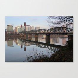 Hawthorne Bridge Canvas Print