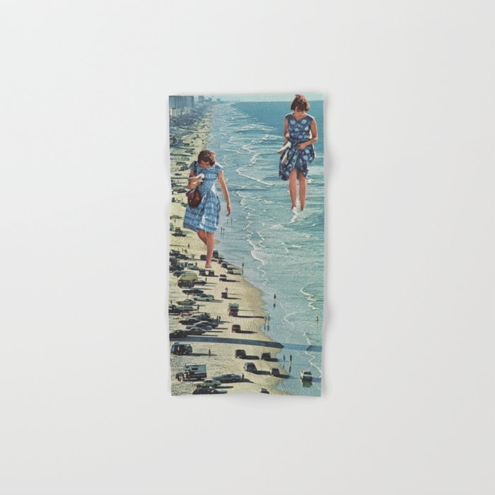 Walk on the Beach Hand & Bath Towel