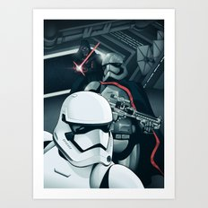The Force Awakens: The Dark Side Art Print