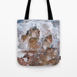 Mammoth Hot Springs Yellowstone Tote Bag