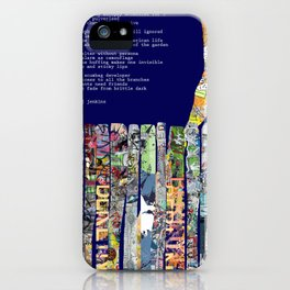 Jx3 Poem - 2 iPhone Case